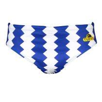 Zigzag  férfi vízilabdás úszó - kék-fehér