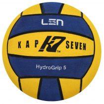 K7 labda - 5-ös méret - sárga-kék