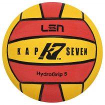 K7 labda - 5-ös méret - sárga-piros