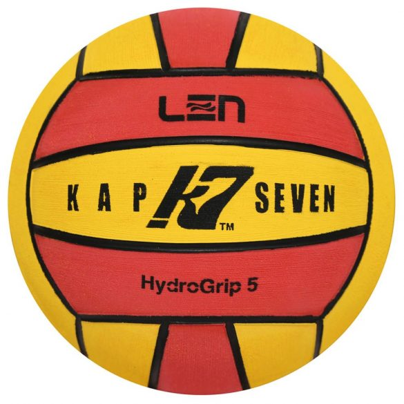 K7 Ball Size 5 yellow-red