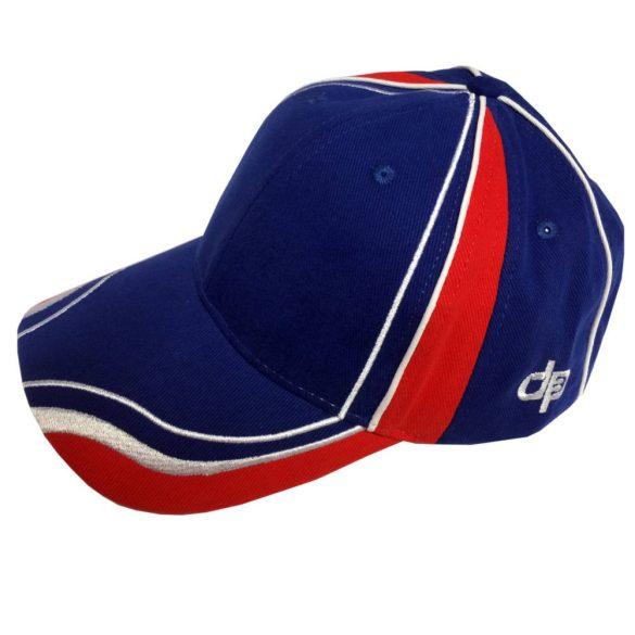 Baseball sapka-kék/fehér/piros