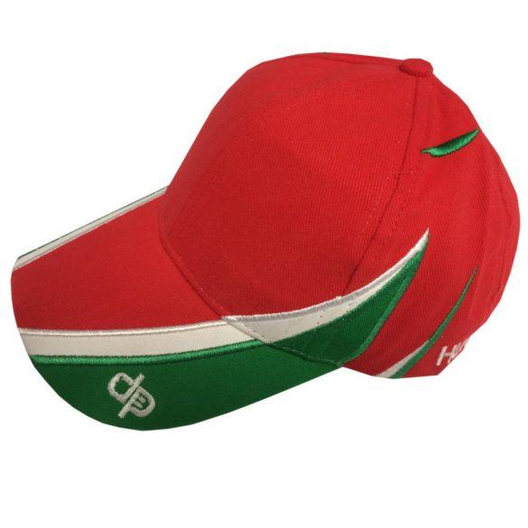 Baseball sapka-piros/fehér/zöld