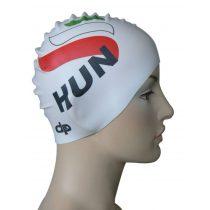 Szilikon úszósapka - HUN - 1 - fehér