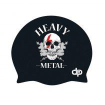 Szilikon úszósapka - heavy metal design - 2