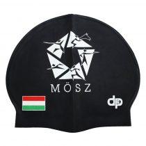 Szilikon Úszósapka - MÖSZ - Fekete