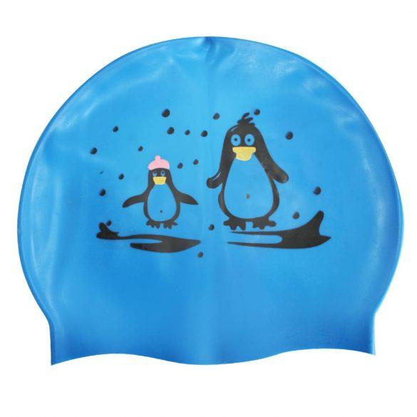 Szilikon úszósapka-Pingvines