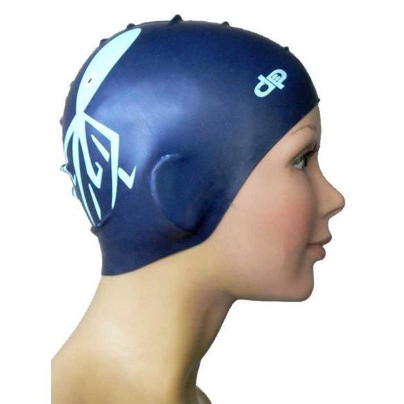 Szilikon úszósapka-Polip-kék