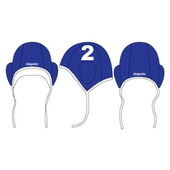 Vízilabda sapka-kék