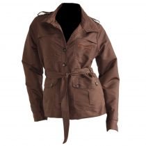 Torino vízlepergetős kabát barna