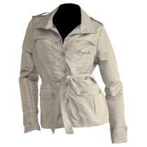 Torino vízlepergetős kabát világosszürke