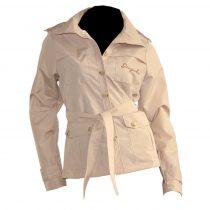 Torino vízlepergetős kabát bézs