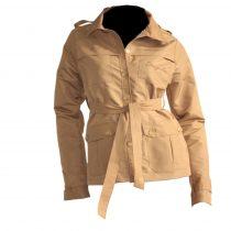 Torino vízlepergetős kabát arany