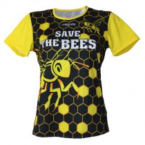 """Bahama"" Női rövid ujjú póló-Save the bees-2"