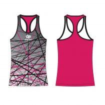 Női fitness/futó trikó - MARYLAND - STORK