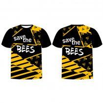 """Duna"" Férfi rövid ujjú póló-Save the bees"