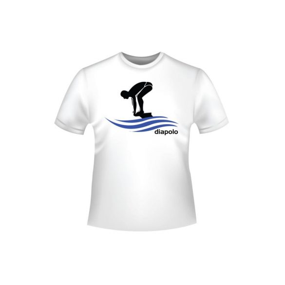 Póló-Swimming man