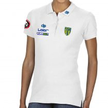 BVSC-Női galléros póló-fehér