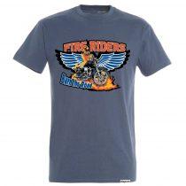Férfi póló-Fire Riders