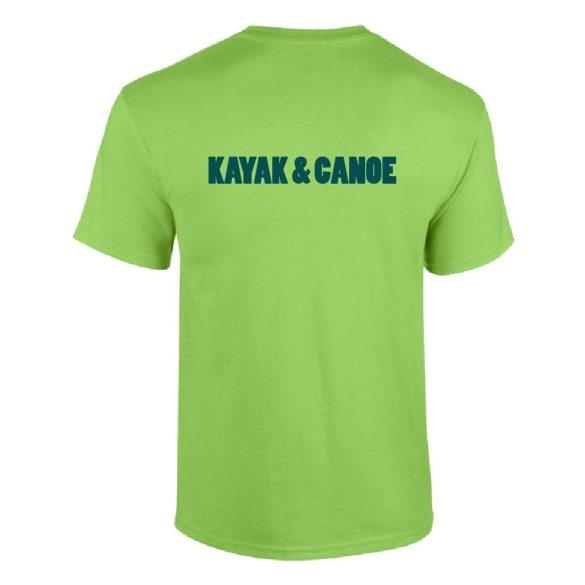 Póló-Kayak and Canoe-1-zöld