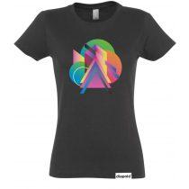 Női póló-Colorful