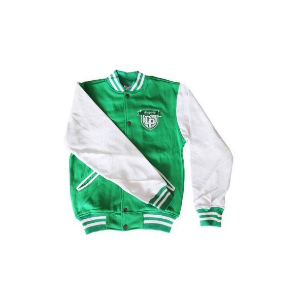 """Kansas"" Baseball kabát-zöld/fehér"