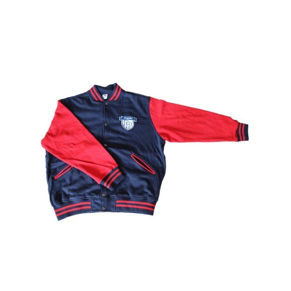"""""""Kansas"""" Baseball kabát-sötétkék/piros"""