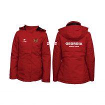 Grúzia-Télikabát-piros