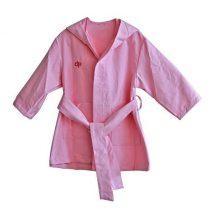 Mikroszálas rózsaszín köntös