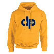 Pulóver - DP - hímzett - sárga
