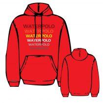 Pulóver - WP2 - hímzett - piros