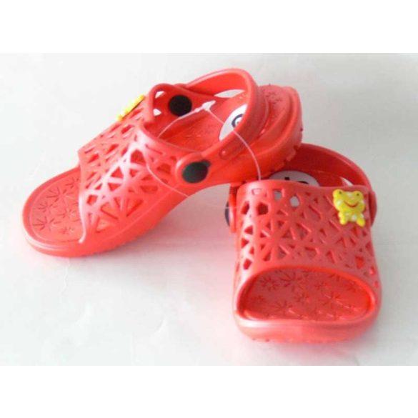 Kislány papucs-Cute-piros