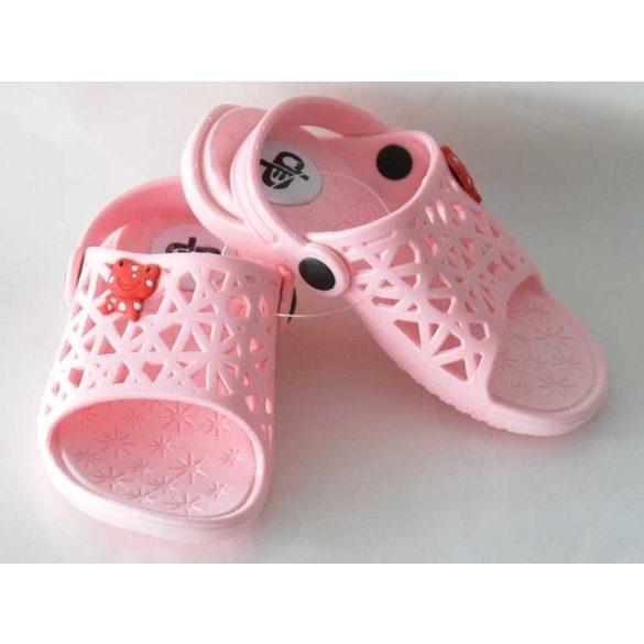 Kislány papucs-Cute-rózsaszín