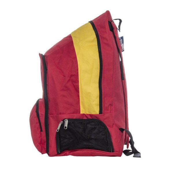 """""""Fire"""" nagy Hátizsák (43x56x29 cm)-piros/sárga"""