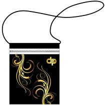 Kártyatartó-Floral Gold-2