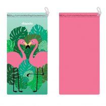 Szemüvegtok-Flamingos
