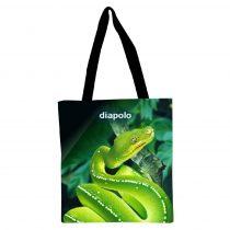 Bevásárló táska - Green Snake