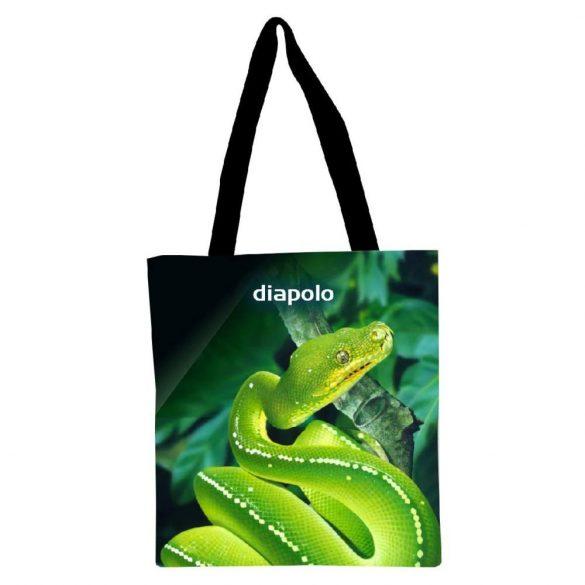Bevásárló táska-Green Snake