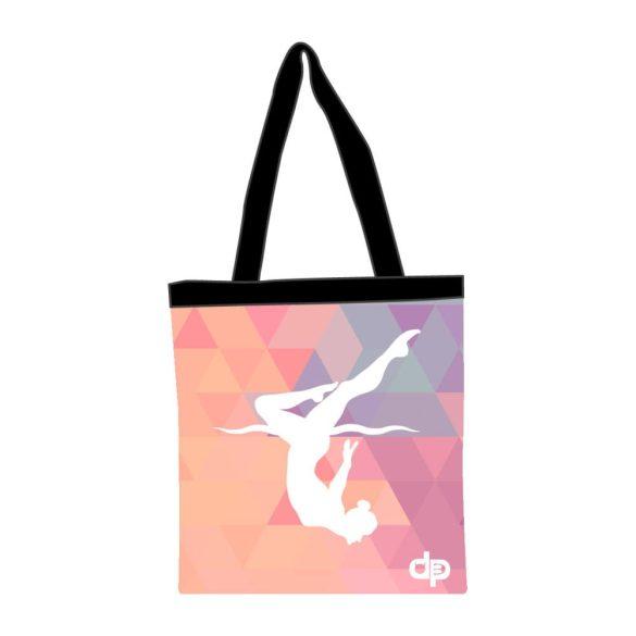 Bevásárló táska-Triangle girl