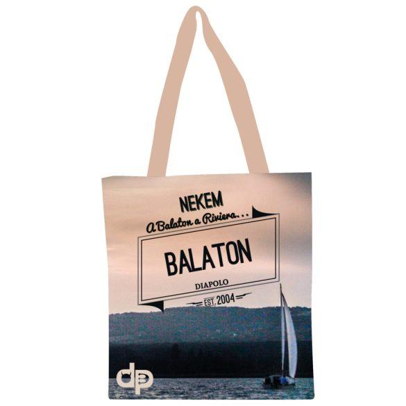 Bevásárló táska-Balaton Riviera