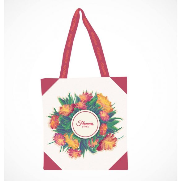 Bevásárló táska-Flowers-2