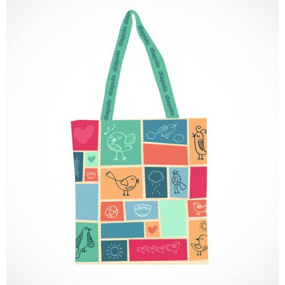 Bevásárló táska-Birds