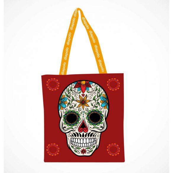 Bevásárló táska-Skull