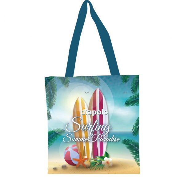 Bevásárló táska-Surfing summer paradise