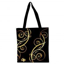 Bevásárlótáska - Floral Gold - 1