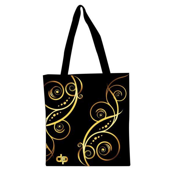 Bevásárló táska-Floral Gold-1