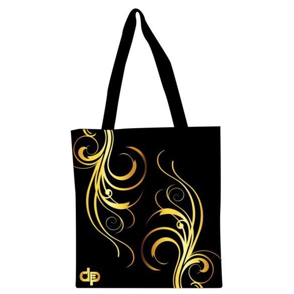 Bevásárló táska-Floral Gold-2