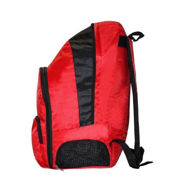"""""""Fire"""" nagy Hátizsák (43x56x29 cm)-piros/fekete"""