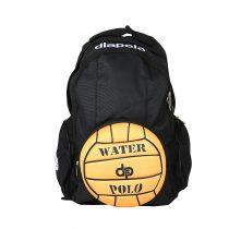 Vízilabdás fekete hátizsák