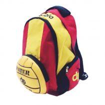 Vízilabdás hátizsák-fekete/sárga/piros