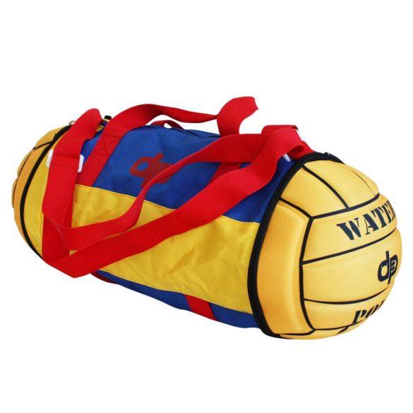 Összecsukható Vízilabdás Táska-piros/sárga/kék